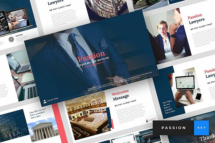 Passion - Lawyer Keynote Template