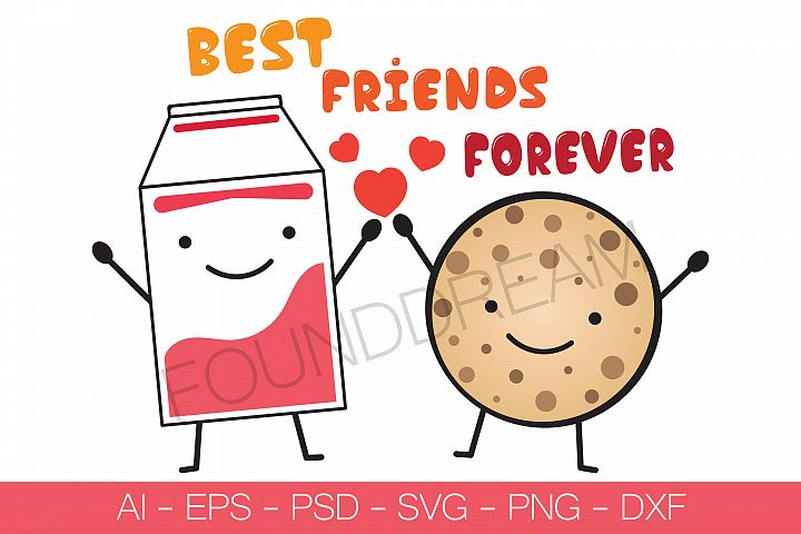 Best Friends Forever | Vector File