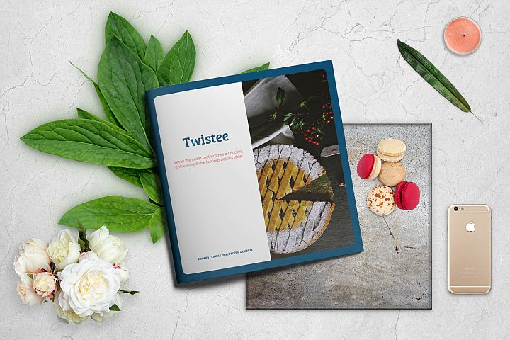 Twistee - Desserts Recipe Book