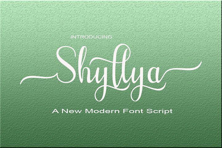 Shyllya Script