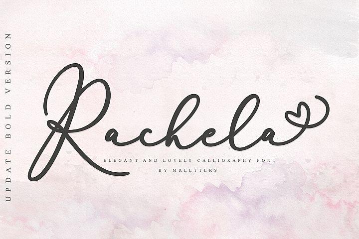 Rachela Script Bold