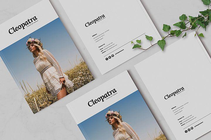 Cleopatra | Minimal Brochure Templates