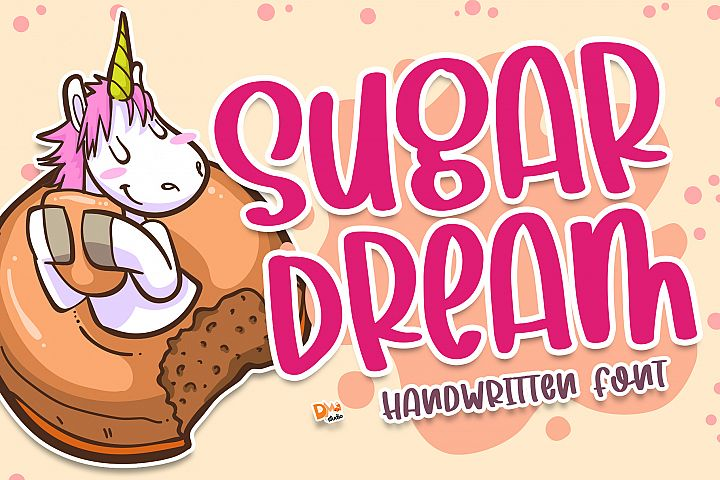 Sugar Dream - Handwritten Font