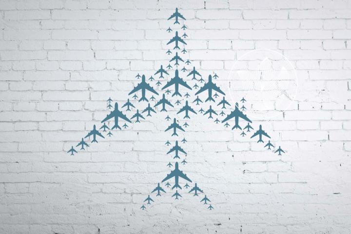 Airplane design jpg, png, eps, svg, dxf, pdf