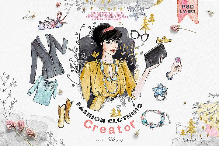 Fashion clothing creator