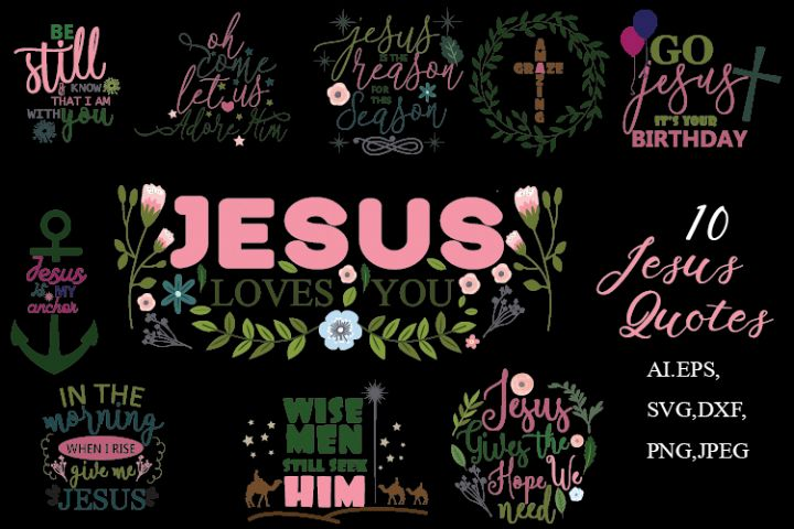 Jesus Quotes svg cutting files,Christmas Quotes svg cutting
