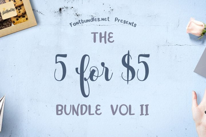 5 for 5 Bundle Volume II Cover