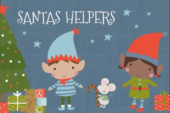 Santas Helpers set