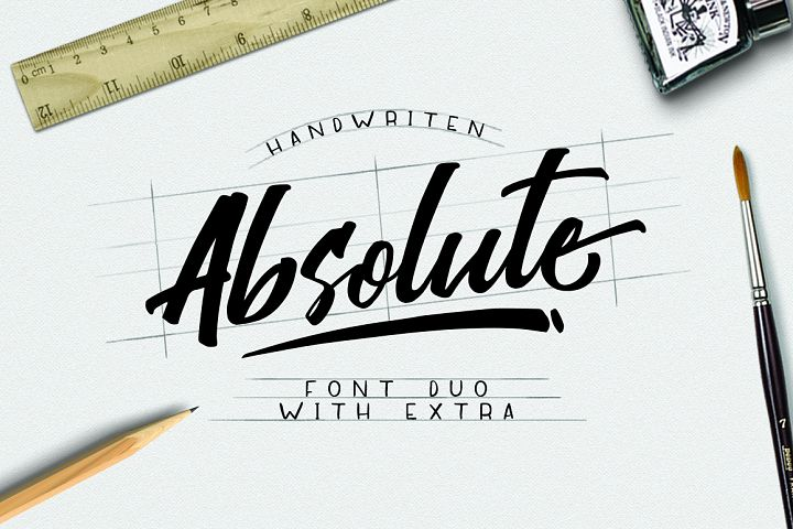 Absolute Font Duo example image 1