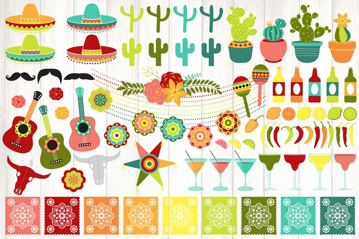 Cinco de Mayo Vector Clipart example 1