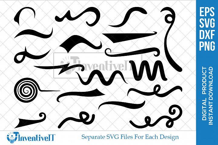Swirl | Flourish | Swoosh | Decorative | Squiggle |