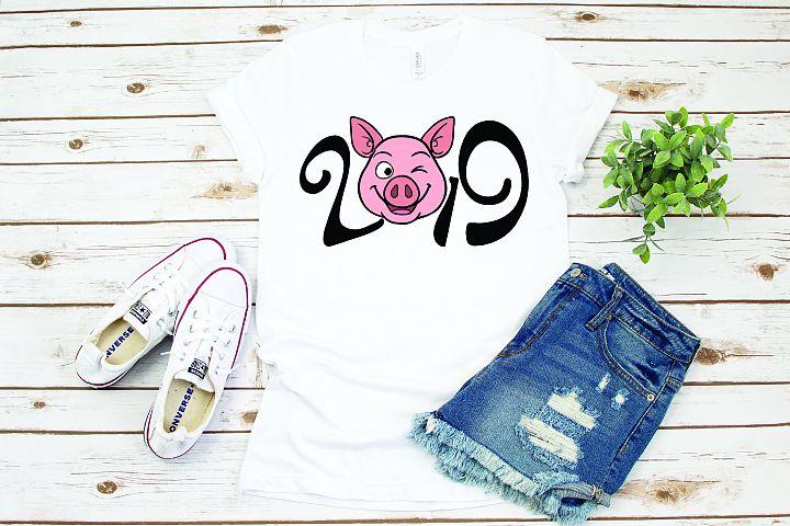 Happy new year, Pig year