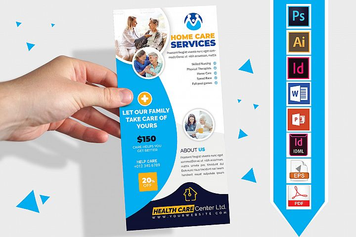 Rack Card | Home Care DL Flyer Vol-02