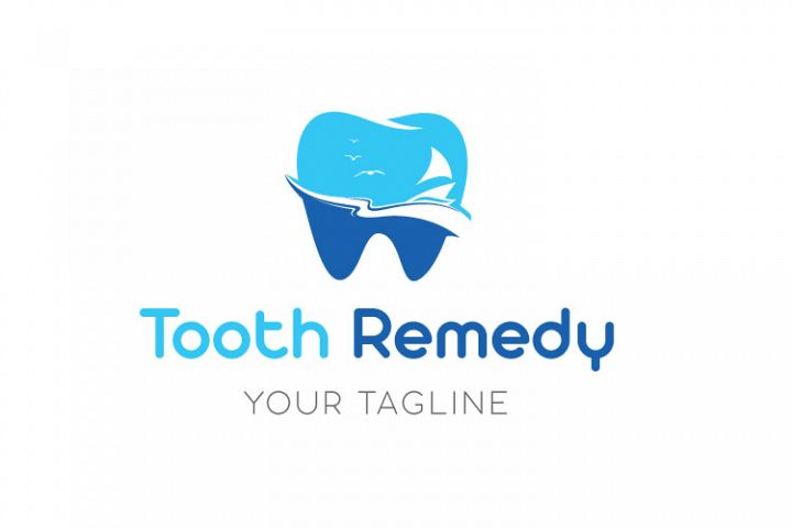 Teeth Cavity Logo Design