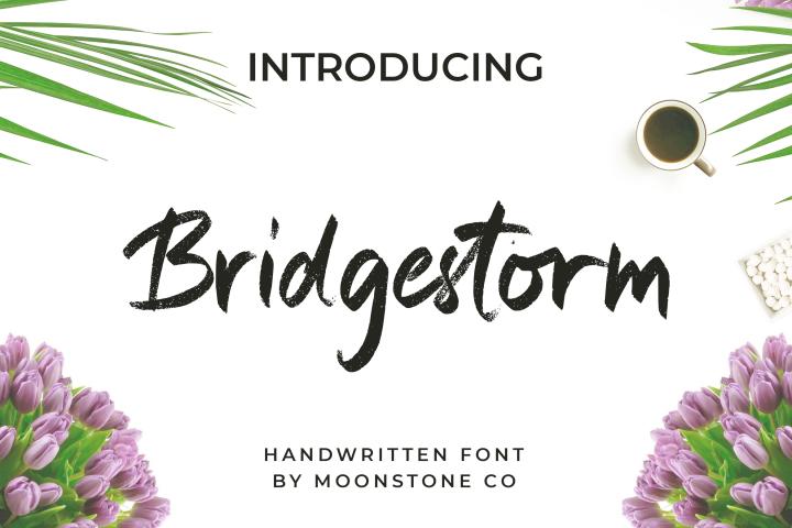 Bridgestorm Handwritten Font