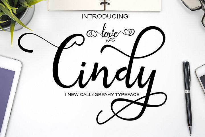 Love Cindy + extra love