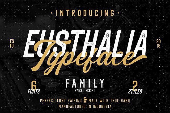 Eusthalia Font Family