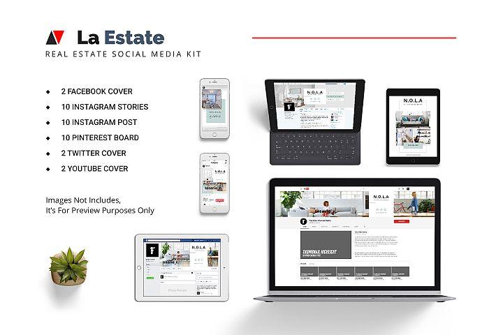 La Estate Real Estate Social Media