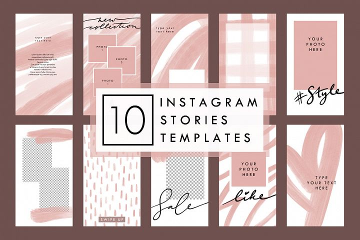 BEIGE 10 Styled Instagram Stories Templates
