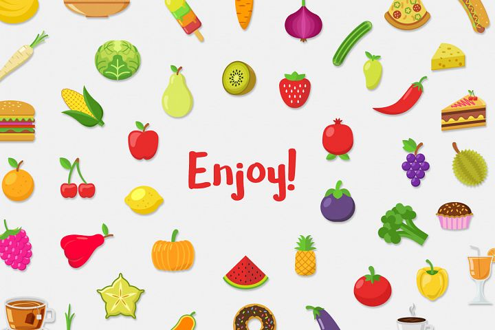 Food Vector Set - Free Design of The Week Design3