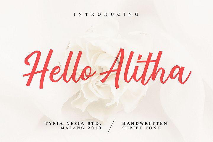 Hello Alitha