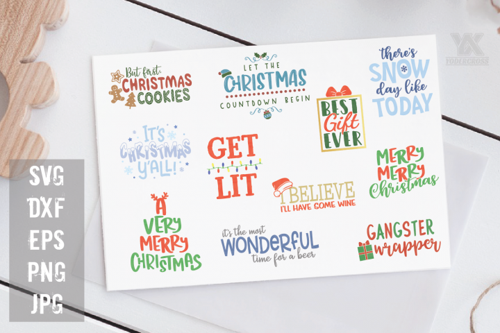 Christmas SVG Bundle Volume 1