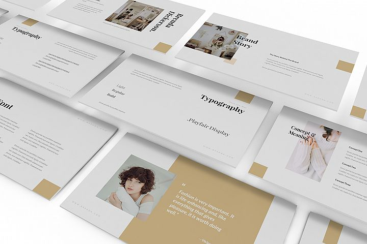 Brenda - Brand Guideline Keynote