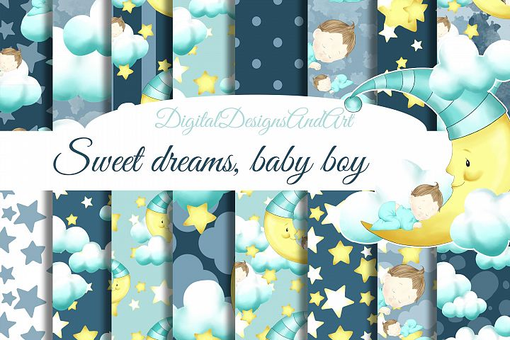 Good night, baby boy
