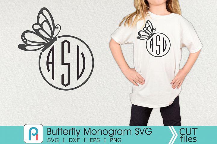 Butterfly Monogram Svg, Butterfly Svg, Butterfly Clip Art