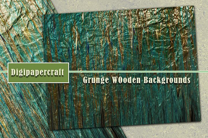 Grunge wooden textures. Abstract backgrounds