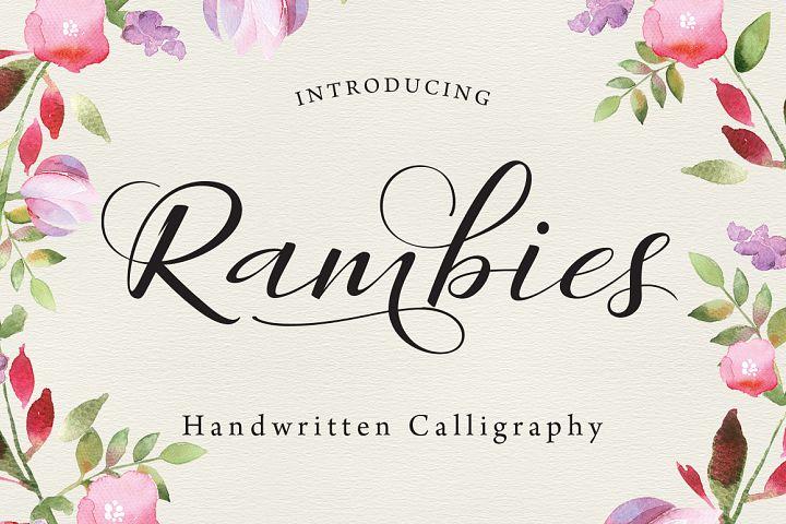 Rambies Script