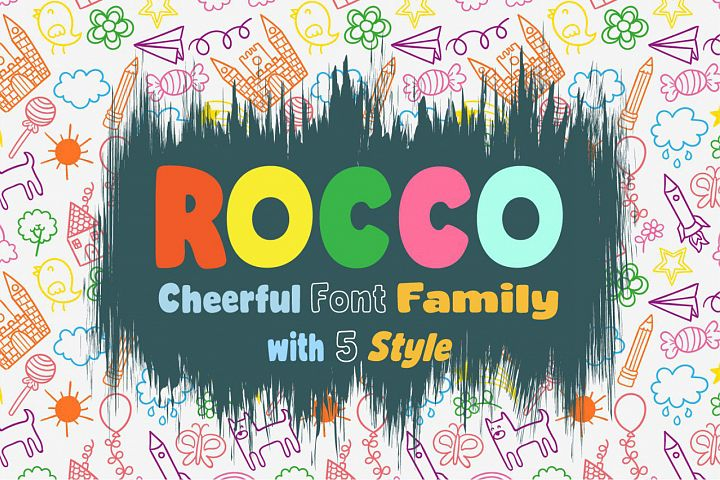 Rocco Font Family