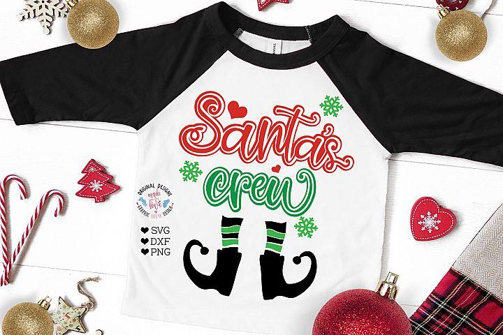 Santas Crew Cut File