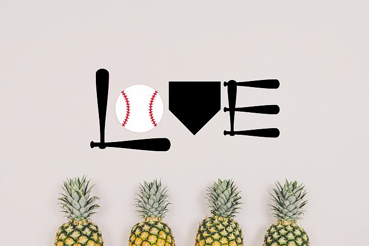 Baseball Love SVG Png Dxf EPS