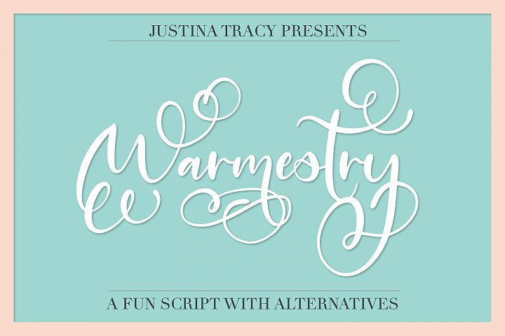 Warmestry - A Script With Swirls & Flourishes