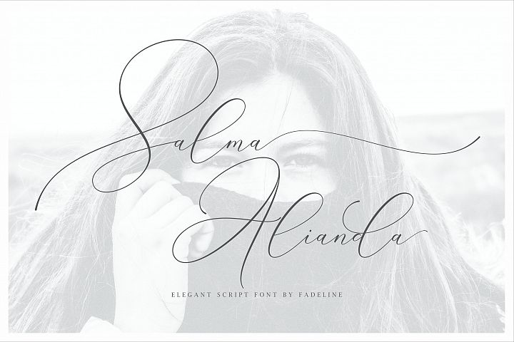 Salma Alianda - Elegant Script Font