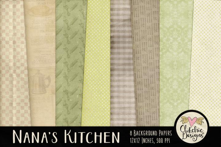 Nanas Kitchen Background Textures