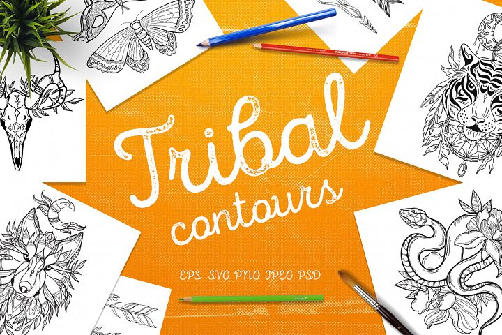 Tribal contours