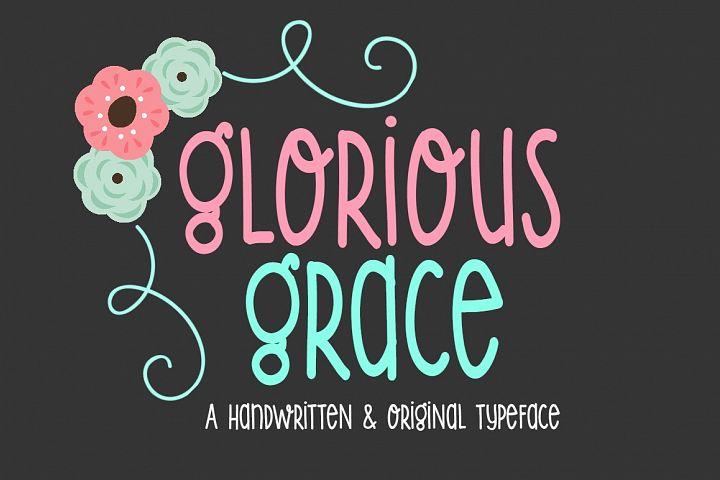 Glorious Grace-Handwritten Font