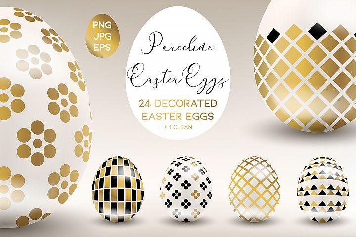 Porceline Easter Eggs
