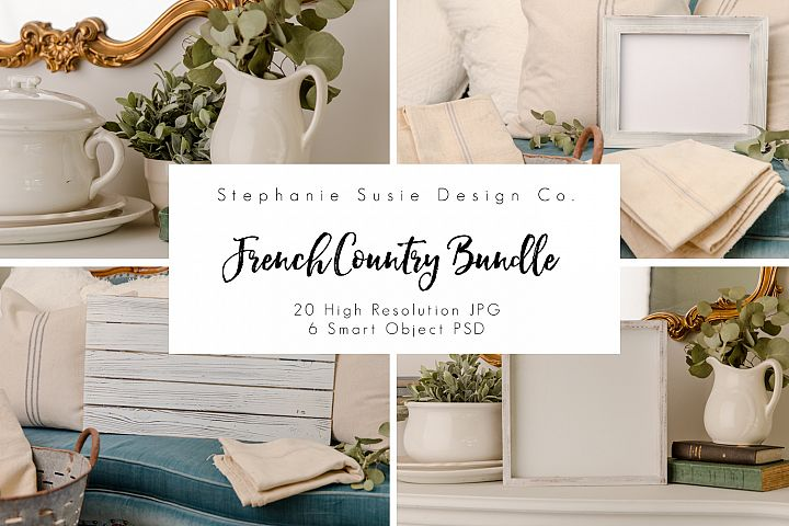 French Country Signs Mock Up Bundle