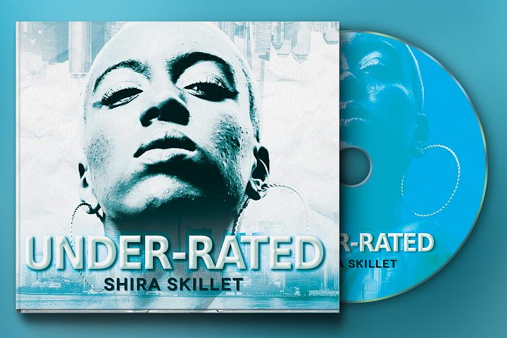 Underrated 4 Panel Digipak CD Artwork Template