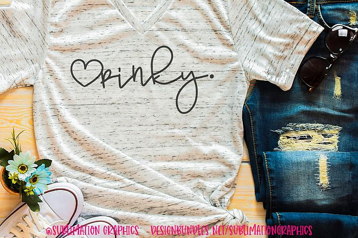 Pinky Sublimation Digital Download