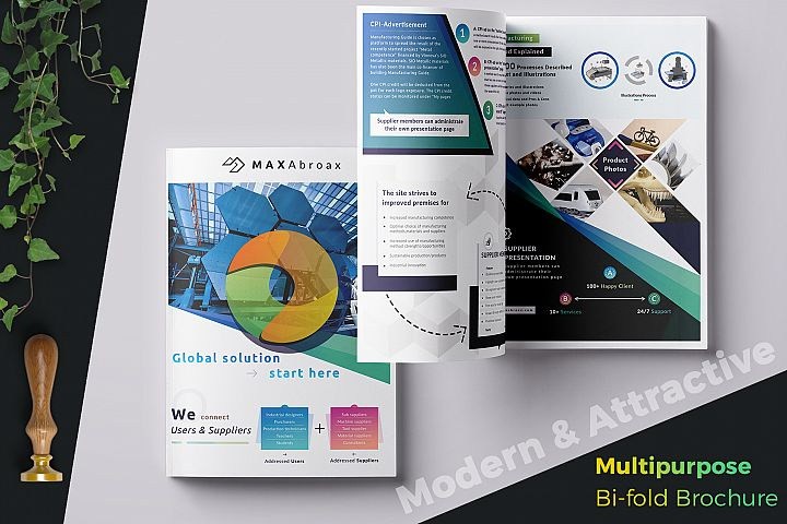 Multipurpose Bi-fold Brochure