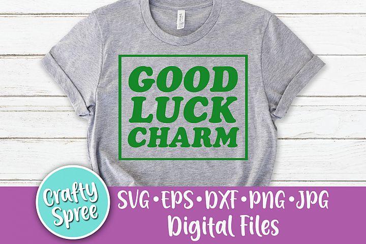 Good Luck Charm St Patricks SVG DXF Design File Sublimation
