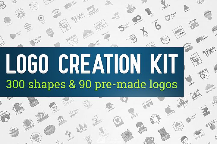 Logo Creation Kit DIY Bundle