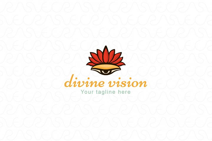 Divine Vision - Stock Logo Template