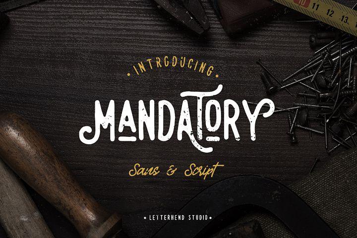 Mandatory Vintage Font Duo !