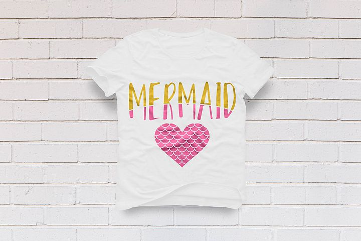 Mermaid at heart kids