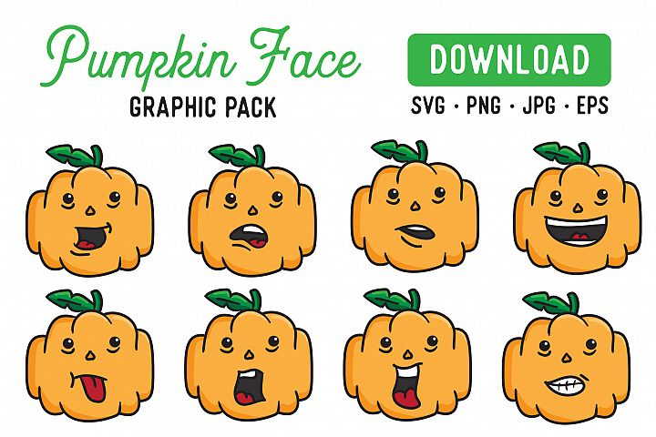Pumpkin Vector Clipart Pack